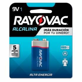 Batería RAYOVAC 9V