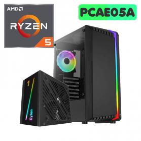 PC Gamer Aerocool Bionic RGB, AMD Ryzen 5 5600G,  16GB,  SSD MVME 512GB - SIN KIT - PCAE07A -