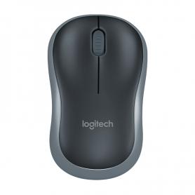 Mouse Óptico Logitech M185 WIFI 2.4Ghz Swift Gray