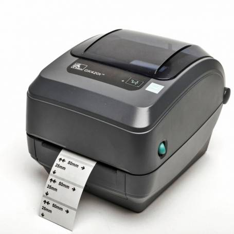 Impresora de etiquetas Zebra GK420, USB - Red