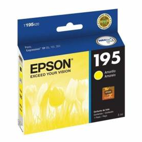 Cartucho amarillo Epson 195 original