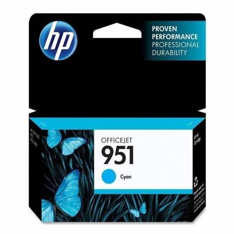 Cartucho  HP 951 original de tinta cian