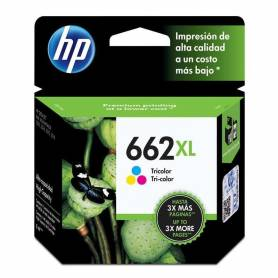 Cartucho HP 662XL original de tinta tricolor