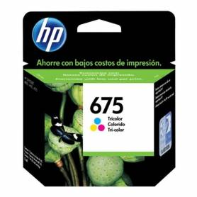 Cartucho  HP 675 original de tinta tricolor