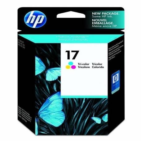 Cartucho   HP 17 original de tinta tricolor