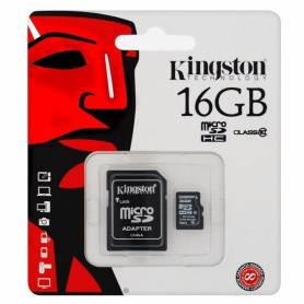 Tarjeta SDHC 16GB Clase 10 Kingston