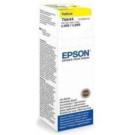 Tinta Epson T664420 Original amarillo L200 L210 L350 L355 L555