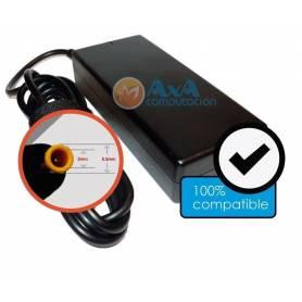 Cargador para  Notebook Samsung  19V / 3.42 A Pin fino 5.5 x 3 mm