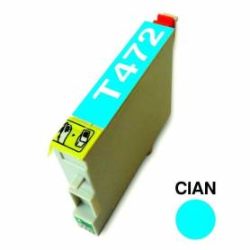 Cartucho para Epson T472 cian alternativo