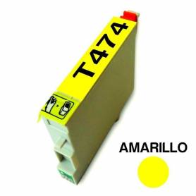 Cartucho para Epson T474 amarilo alternativo