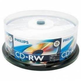 CD Virgen Regrabable PHILIPS 700MB