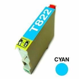 Cartucho para Epson 822 cian alternativo