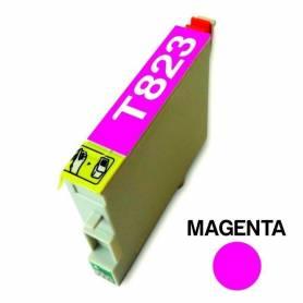 Cartucho para Epson 823 magenta alternativo