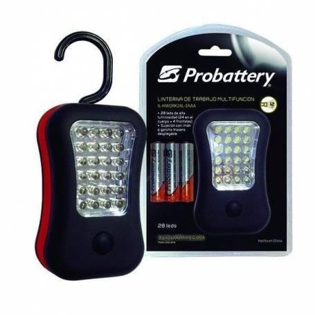 Linterna 28 LED multifuncion PROBATTERY IL-HWORK24L-3AAAA