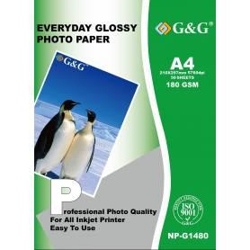 NP-G1480 Papel Foto 180g 50 hojas  G&G