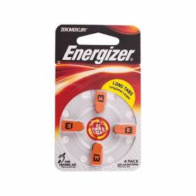 Pila de Audifono nro 13 x 4 Unidades Energizer