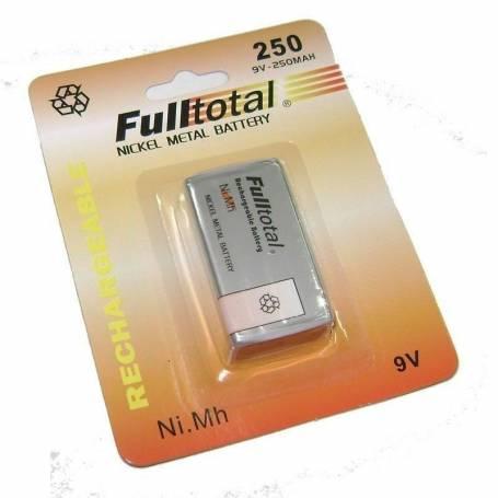 Bateria 9V recargable Full total