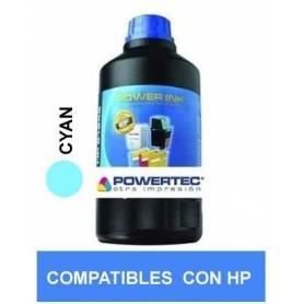 Tinta alt HP CYAN x 250ML DYE PowerTec