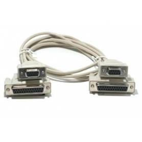 Cable lip serial de 4 cabezas