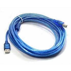 Cable USB AM-BM 3 MTS p/ impresora