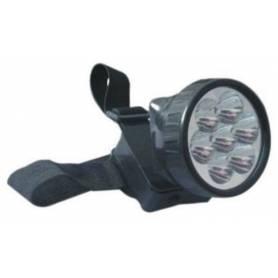 Linterna 7 LED minero / 3 pilas KODAK