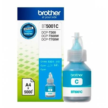 Tinta original BROTHER BT6001BK Cyan