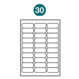 Etiquetas autoadhesivas Carta 1004 JETLABEL 66,70 x 25,40 MM