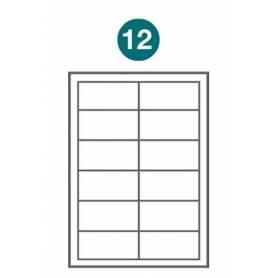 Etiquetas autoadhesivas Carta 1006 JETLABEL 90,00 x 40,00 MM