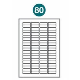 Etiquetas autoadhesivas Carta 1002 JETLABEL 44,40 x 12,70 MM