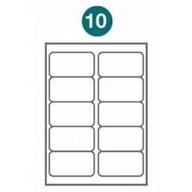 Etiquetas autoadhesivas Carta 1009 JETLABEL 101,60 x 50,80 MM