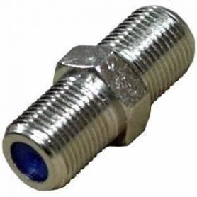Conector F H/H pin fino