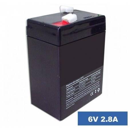 Bateria de gel de 6V -2.8A