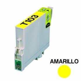 Cartucho para Epson 103 amarillo alternativo