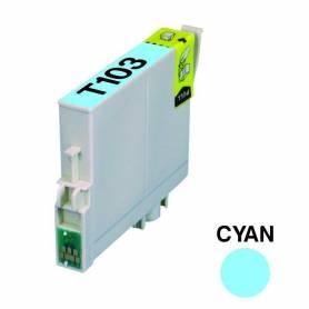Cartucho para Epson 103 cian alternativo