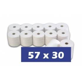 Papel Termico 57x30 Pack 10 unidades
