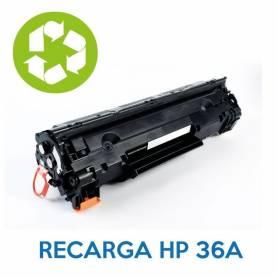 Recarga de toner HP 35A CE235A