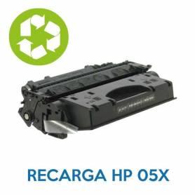 Recarga de toner HP 05A CE505A