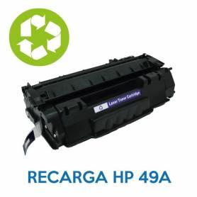 Recarga de toner HP 49A Q5949A