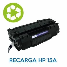 Recarga de toner HP 15A Q7115A