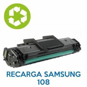 Recarga de toner SAMSUNG 108 MLT-D108