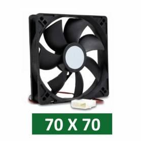 Cooler para gabinetes de PC medidas 70 x 70