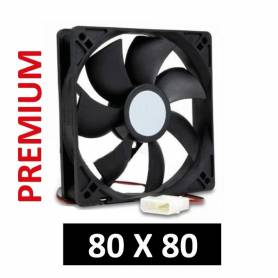 Cooler para gabinetes de PC medidas 80 x 80 PREMIUM