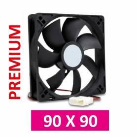 Cooler para gabinetes de PC medidas 90 x 90 PREMIUM