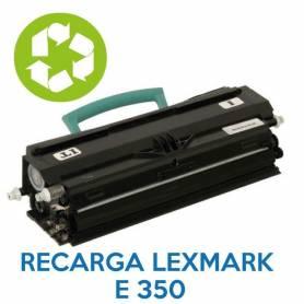 Recarga de toner LEXMARK E350