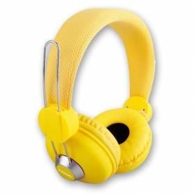 Auricular X-2670 Noganet con Microfono incorporado YELLOW