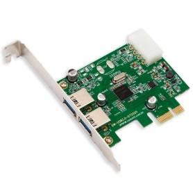 Placa PCI Express USB 3.0 2 puertos noga KW-PE-404