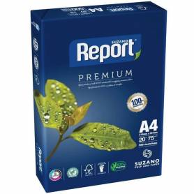 Resma REPORT  A4 Multifuncion de 75 grs