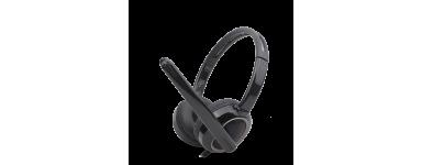 Auriculares para pc con microfono..